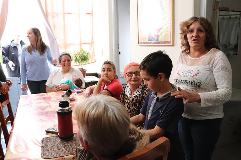 La Casa San Martín de Porres ofrece cama, baño, comida caliente, acogida y acompañamiento durante la enfermedad